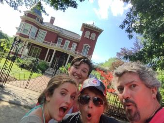 Stephen King's house. Bangor, ME.