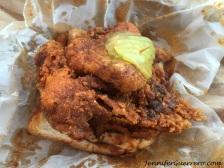 """Prince's Hot Chicken Shack - 1/4 chicken in """"medium"""""""